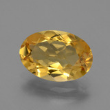 thumb image of 2.7ct Oval Facet Yellow Golden Citrine (ID: 450756)