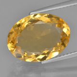 thumb image of 5ct Oval Facet Yellow Golden Citrine (ID: 450768)