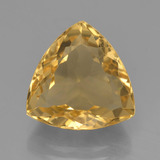 thumb image of 5.7ct Trillion Facet Yellow Golden Citrine (ID: 450773)