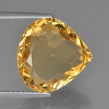 thumb image of 6.4ct Pear Facet Yellow Golden Citrine (ID: 450784)