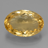 thumb image of 11.2ct Oval Facet Yellow Golden Citrine (ID: 450790)