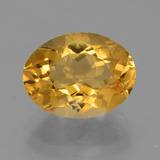 thumb image of 4.4ct Oval Facet Yellow Golden Citrine (ID: 450794)
