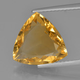 thumb image of 3.9ct Trillion Facet Yellow Golden Citrine (ID: 450811)