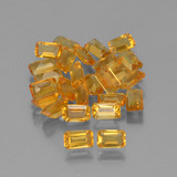 thumb image of 6.3ct Octagon Step Cut Yellow Golden Citrine (ID: 452990)