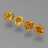 thumb image of 1.6ct Round Facet Yellow Golden Citrine (ID: 453297)