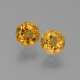 thumb image of 0.9ct Round Facet Yellow Golden Citrine (ID: 453301)