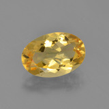 thumb image of 2.6ct Oval Facet Yellow Golden Citrine (ID: 453645)