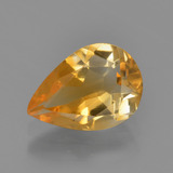 thumb image of 1.6ct Pear Facet Yellow Golden Citrine (ID: 453653)