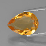 thumb image of 2.8ct Pear Facet Yellow Golden Citrine (ID: 453656)