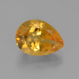 thumb image of 3.2ct Pear Facet Yellow Golden Citrine (ID: 453733)
