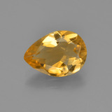 thumb image of 2ct Pear Facet Yellow Golden Citrine (ID: 453734)