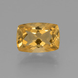 thumb image of 3.3ct Cushion-Cut Yellow Golden Citrine (ID: 453799)