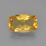 thumb image of 2.4ct Coussin-coupe Jaune doré Citrine (ID: 453808)