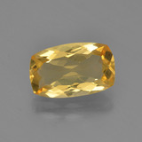 thumb image of 2ct Cushion-Cut Yellow Golden Citrine (ID: 453809)
