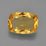 thumb image of 3ct Cushion-Cut Yellow Golden Citrine (ID: 453859)