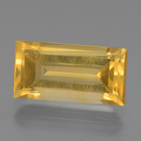 thumb image of 4.6ct Baguette Facet Yellow Golden Citrine (ID: 454754)