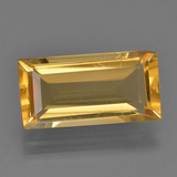 thumb image of 3.8ct Baguette Facet Yellow Golden Citrine (ID: 455141)