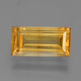thumb image of 2.5ct Baguette Facet Yellow Golden Citrine (ID: 455259)
