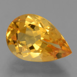 thumb image of 2.9ct Pear Facet Yellow Golden Citrine (ID: 456161)