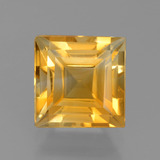 thumb image of 2.7ct Square Step-Cut Yellow Golden Citrine (ID: 456243)