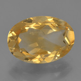 thumb image of 3ct Oval Facet Yellow Golden Citrine (ID: 456415)