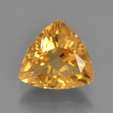thumb image of 2ct Trillion Facet Yellow Golden Citrine (ID: 456498)