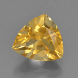 thumb image of 2.2ct Trillion Facet Yellow Golden Citrine (ID: 456499)