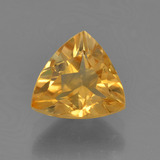 thumb image of 1.6ct Trillion Facet Yellow Golden Citrine (ID: 456500)