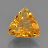 thumb image of 2.1ct Trillion Facet Yellow Golden Citrine (ID: 456501)