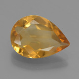 thumb image of 1.9ct Pear Facet Yellow Golden Citrine (ID: 456629)