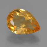 thumb image of 2.1ct Pear Facet Yellow Golden Citrine (ID: 456630)