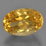 thumb image of 4.4ct Oval Facet Yellow Golden Citrine (ID: 456775)