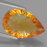 thumb image of 4.2ct Pear Concave Cut Yellow Golden Citrine (ID: 456885)
