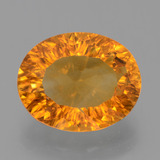 thumb image of 4.4ct Oval Concave Cut Yellow Golden Citrine (ID: 456962)