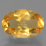 thumb image of 2.4ct Oval Facet Yellow Golden Citrine (ID: 457115)