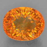 thumb image of 5.3ct Oval Concave Cut Yellow Golden Citrine (ID: 457197)