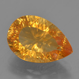 thumb image of 5.4ct Pear Concave Cut Yellow Golden Citrine (ID: 457200)