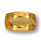 thumb image of 20.6ct Cushion-Cut Yellow Golden Citrine (ID: 457657)