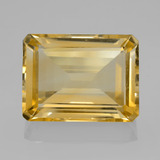 thumb image of 9.1ct Octagon Step Cut Yellow Golden Citrine (ID: 459789)