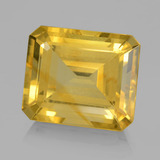 thumb image of 8.9ct Octagon Step Cut Yellow Golden Citrine (ID: 459791)