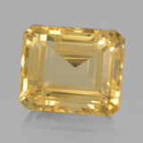 thumb image of 10.6ct Octagon Step Cut Yellow Golden Citrine (ID: 459792)