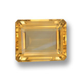 thumb image of 4.9ct Octagon Step Cut Yellow Golden Citrine (ID: 459854)