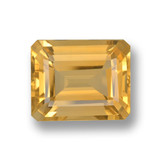 thumb image of 4.2ct Octagon Step Cut Yellow Golden Citrine (ID: 459859)
