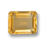 thumb image of 4.8ct Octagon Stufenschliff gelb-gold Citrin (ID: 459860)