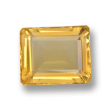 thumb image of 4.7ct Octagon Step Cut Yellow Golden Citrine (ID: 459861)