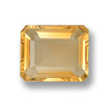 thumb image of 3.8ct Octagon Step Cut Yellow Golden Citrine (ID: 459862)