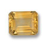 thumb image of 4.2ct Octagon Step Cut Yellow Golden Citrine (ID: 459865)