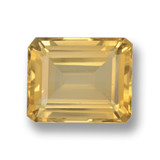 thumb image of 4.5ct Octagon Step Cut Yellow Golden Citrine (ID: 459878)