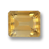 thumb image of 4.4ct Octagon Step Cut Yellow Golden Citrine (ID: 459879)