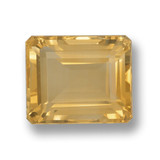 thumb image of 5.5ct Octagon Step Cut Yellow Golden Citrine (ID: 459880)